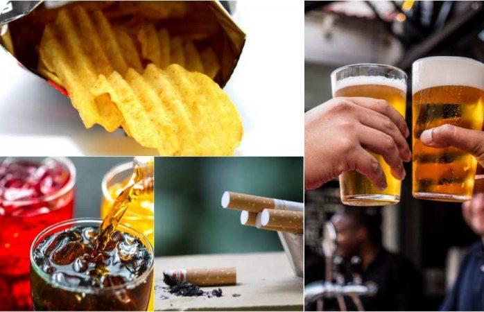 Buscan subir precio de la cerveza, cigarros, sodas y papas