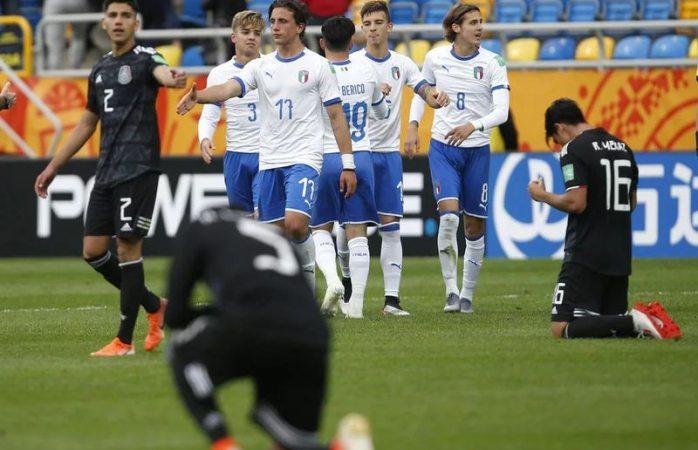 Amargo debut de México en mundial sub 20, pierde 2-1 vs Italia