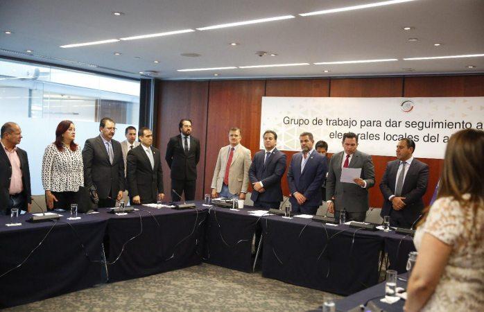 Es Pérez Cuéllar presidente del grupo para seguimiento al proceso electoral 2019