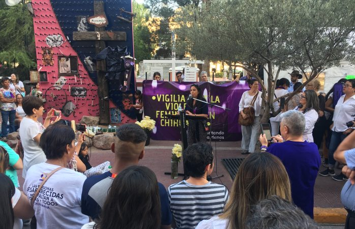 Protestan por feminicidios y falta de justicia