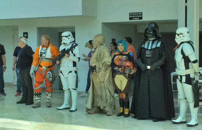Inicia festival de fans de Star Wars en el museo semilla