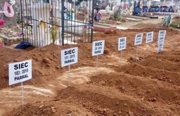 Sin reclamar seis cuerpos en fiscalía zona sur