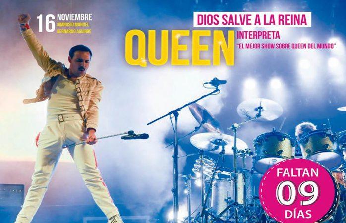A 9 días del tributo a Queen aquí