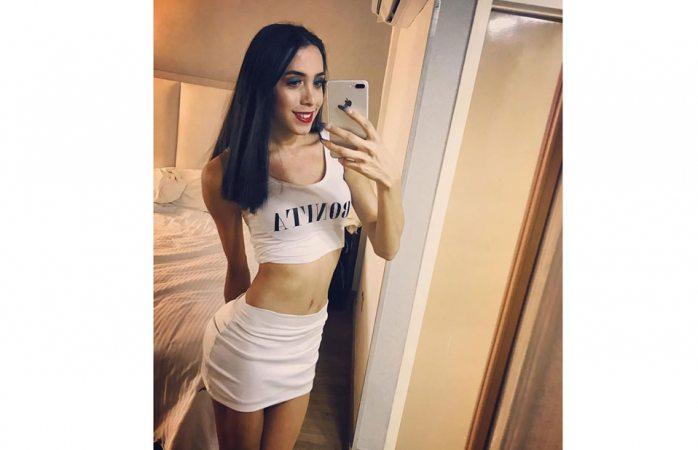 Ella es Alexa, la trans que se grabó en la cama con su sugar daddy
