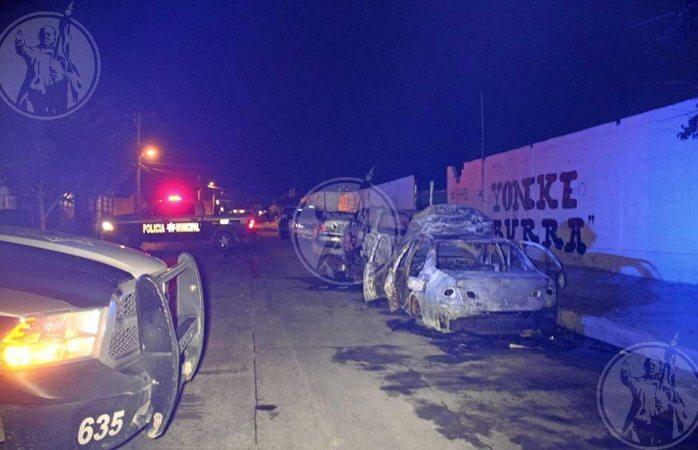 Terror en Juárez; vuelven a incendiar tres carros