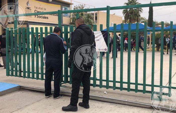 Amenazan con explotar bomba en facultad de la uach en Juárez