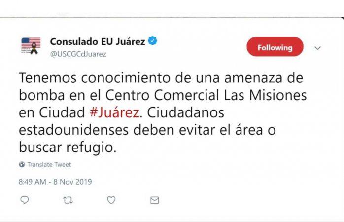 Pide EU a ciudadanos evitar las misiones por amenaza de bomba