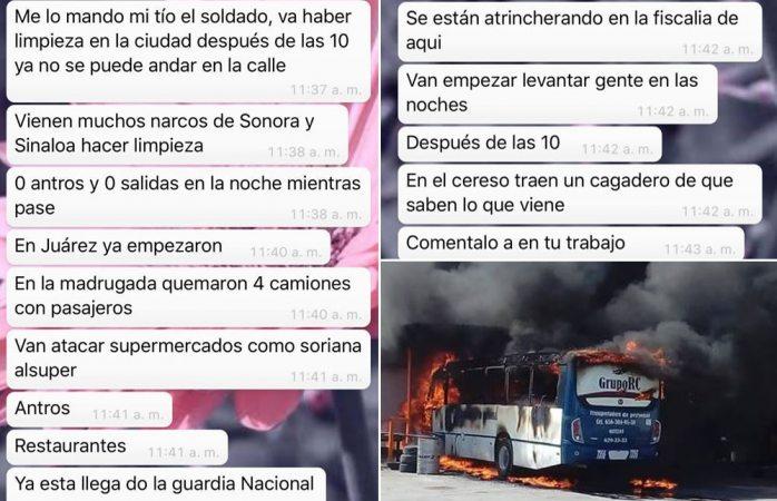 Divulgan mensajes terroristas sobre ataques a antros y centros comerciales