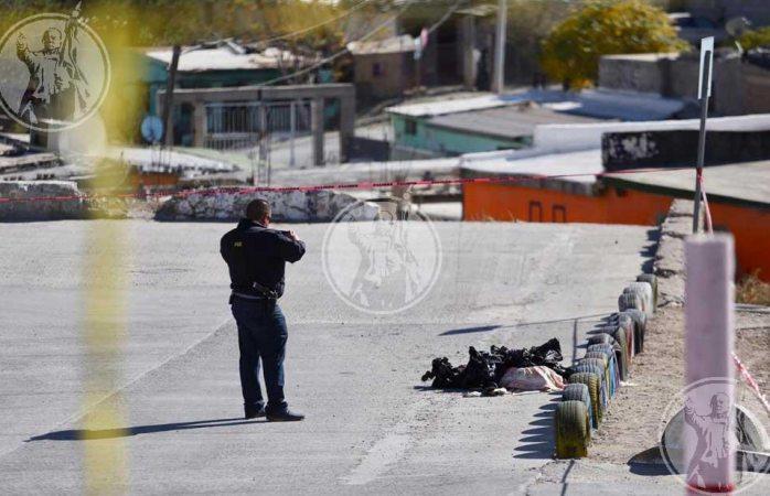 Tiran descuartizado en Juárez