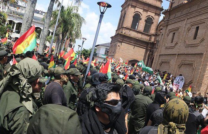 Gobernador y alcalde de Potosí renuncian a sus cargos