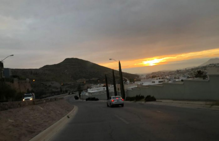 Cielo nublado por tercer día seguido en chihuahua