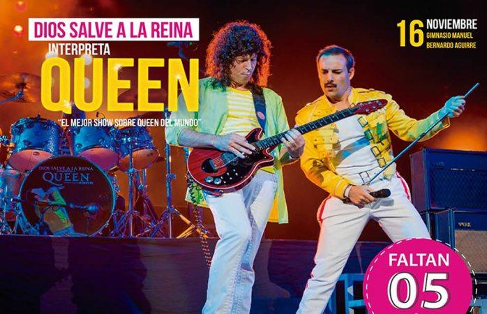Cinco días para el tributo a Queen aquí