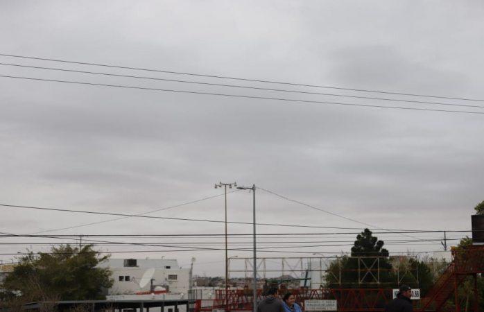 Emiten alerta amarilla por lluvia y frío en Juárez