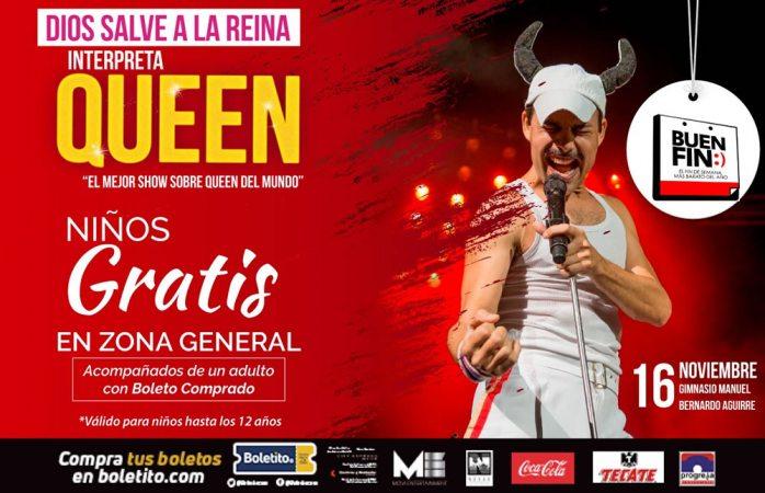 ¡Faltan 4 días para el tributo a Queen en Chihuahua!