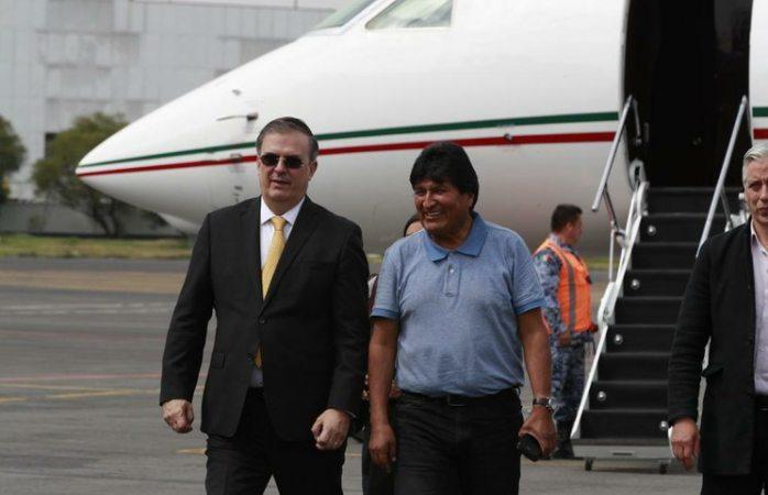 Muchas gracias por salvarme la vida: Evo en México