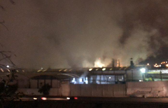 Reporte de incendio en la Papelera moviliza unidades