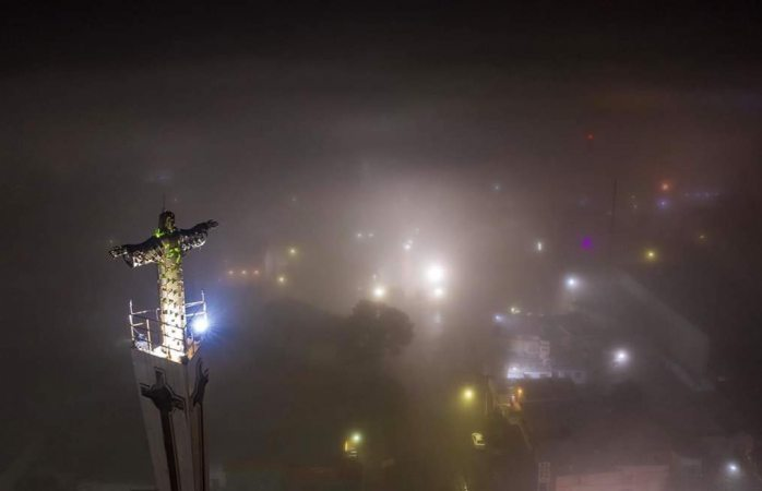 Delicias, Meoqui y Rosales también se cubrieron de neblina