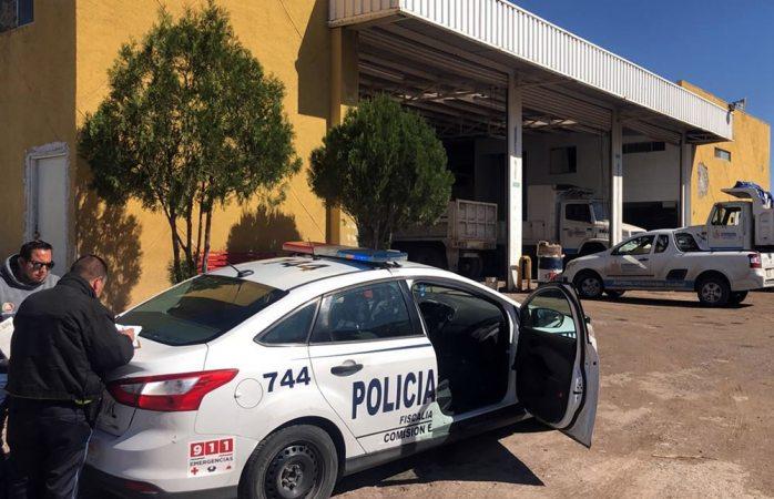Mecánico se lesiona en taller de obras públicas del municipio