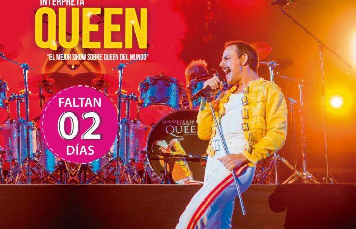 Dos días para el tributo a Queen aquí