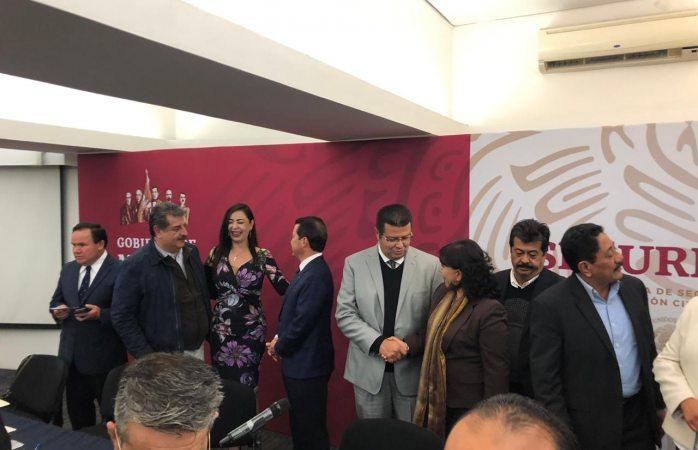 Reunión de alcaldes con Durazo ven temas de seguridad