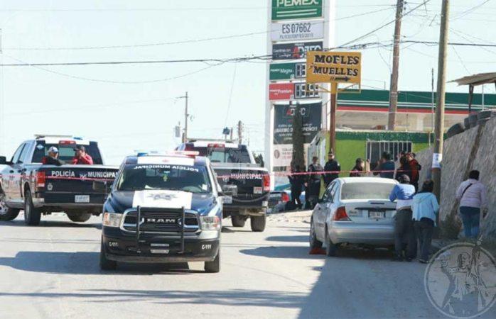 Lo ejecutan frente a gasolinera en Juárez