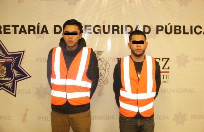 Aseguran arsenal y detienen a dos sicarios en juárez