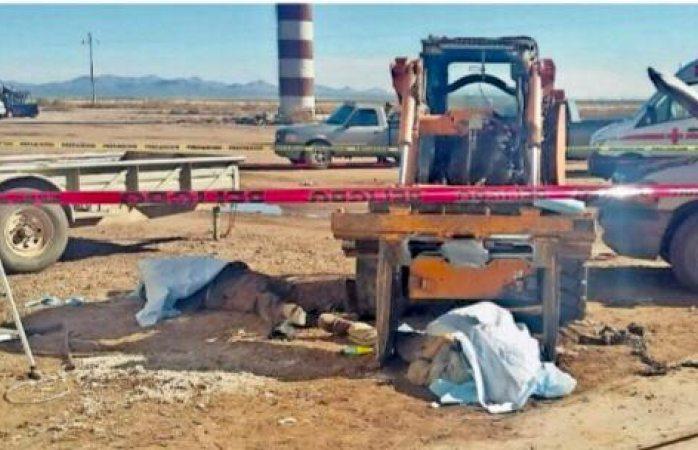Padre e hijo mueren aplastados por motor en janos
