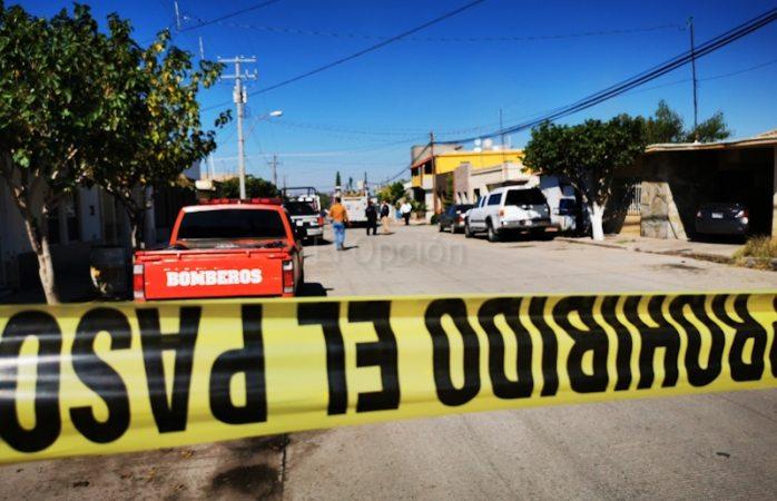 Muere joven tras explotar tanque de gas en Delicias; hay 2 heridos