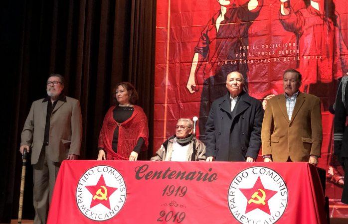 Celebran 100 años del partido comunista