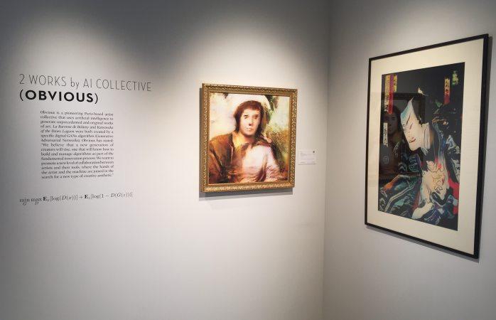 Deja estupefacto al mercado del arte lienzos de colectivo francés