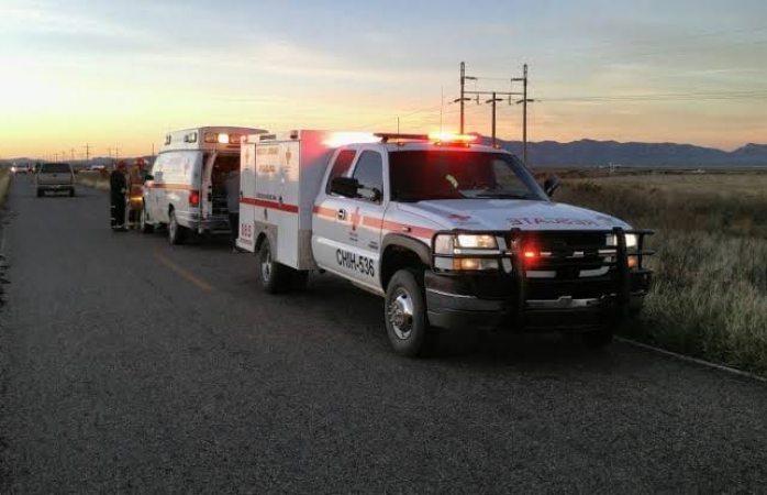 Doce heridos y una mujer muerta en carretera de Camargo