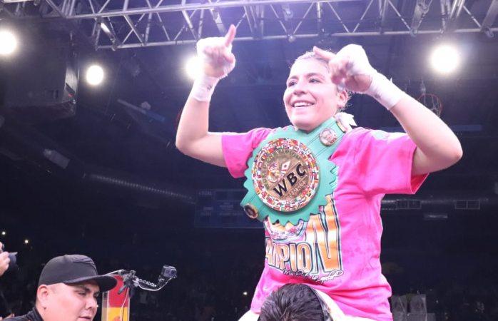 Logra yamileth mercado la hazaña y es primer mujer chihuahuense campeona del mundo