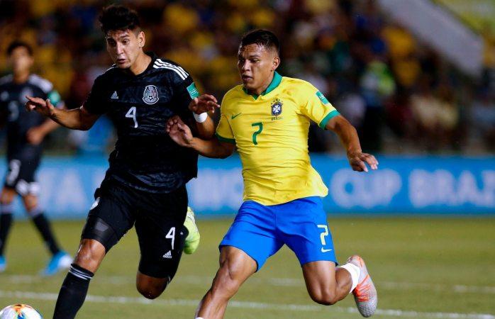 México y Brasil sin goles al medio tiempo en la final de la copa del mundo sub 17