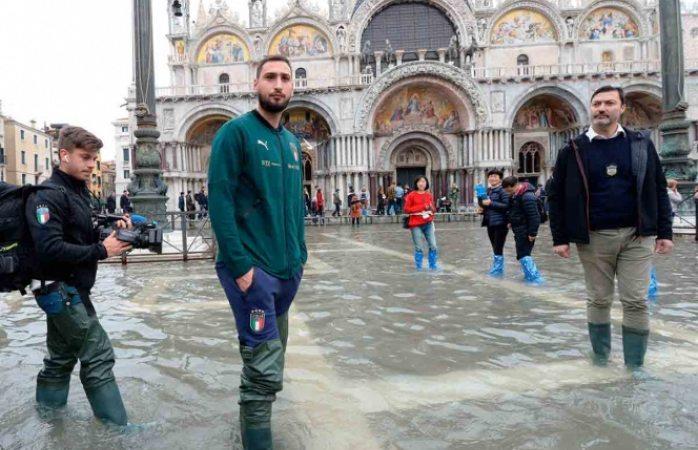 Venecia se prepara para nueva inundación de 160 centímetros