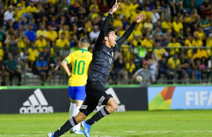 México mete gol vs Brasil y se va arriba en la final del mundo sub 17