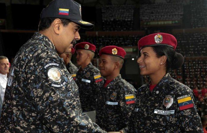Anuncia Maduro captura de militares golpistas
