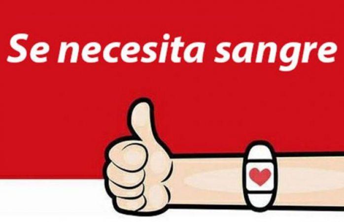 Buscan donadores de sangre para el señor marco antonio ronquillo
