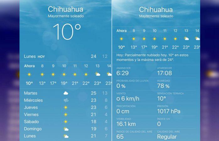 Inicia la semana con clima soleado y despejado