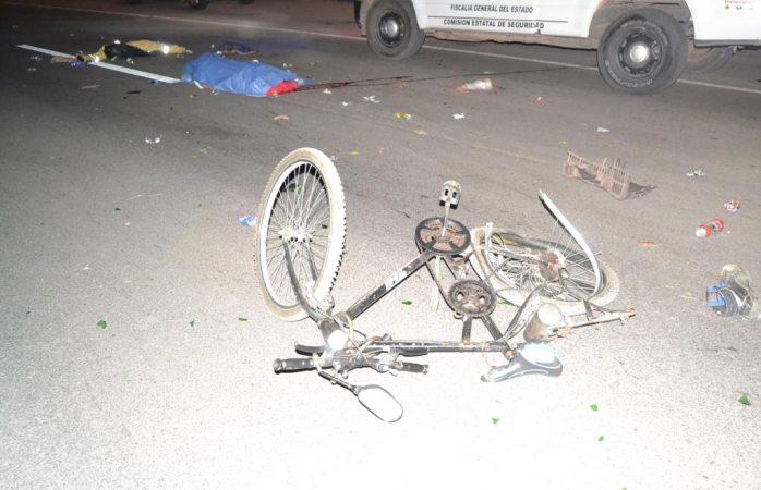Muere ciclista atropellado en carretera