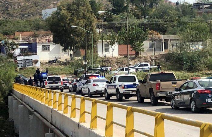 Sicarios atacan a policías estatales en la colonia cerro prieto