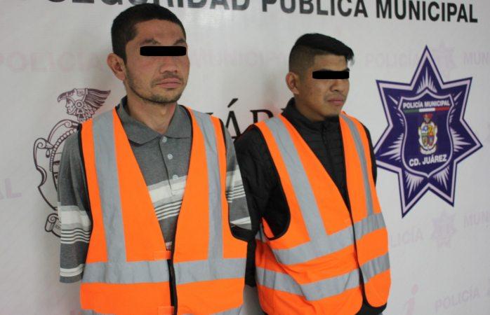 Detienen a dos presuntos sicarios de la empresa en Juárez