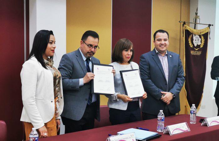 Renueva CEDH y IMMD convenio de colaboración en Delicias