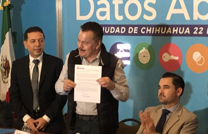 Firma municipio carta de datos abiertos