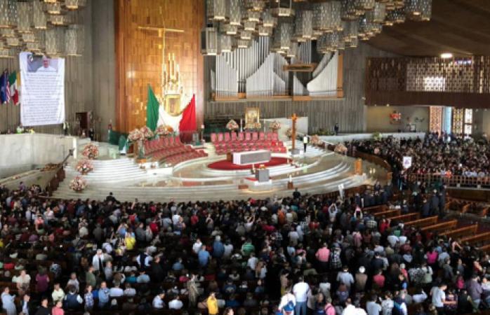 Realizan misa por el eterno descanso de josé josé en la basílica de guadalupe