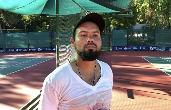 Solo Corral puede apartar canchas de tenis en la deportiva: encargado