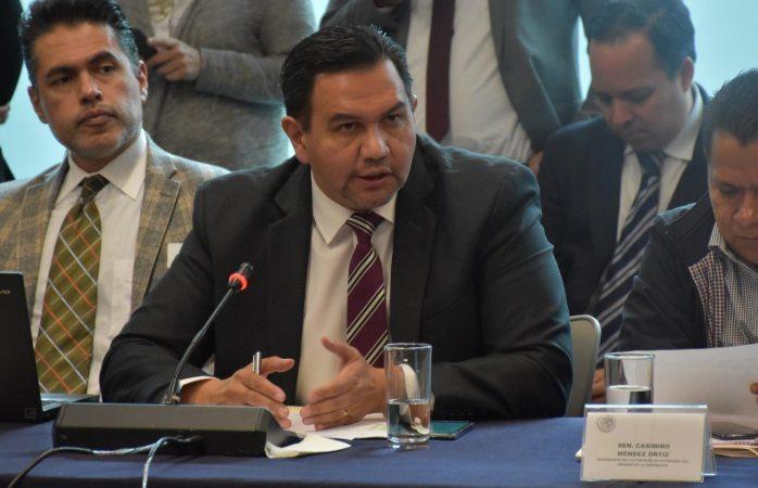 Avalan propuesta del senador Pérez Cuéllar en nombramientos de cofese