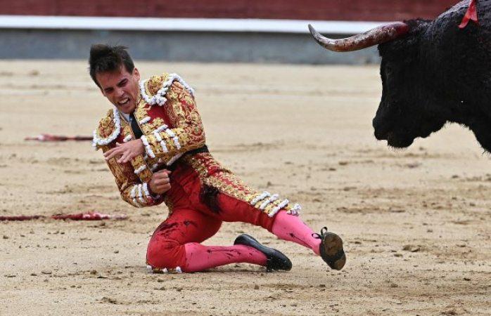 Torero español sufre brutal herida y queda muy grave de salud