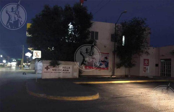 Cierran clínica de cruz roja por la noche en Juárez por amenazas