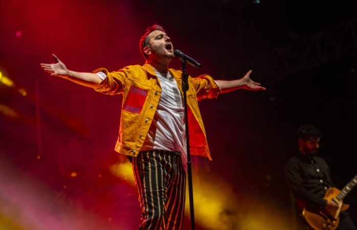 Disfrutan miles del concierto de reik en el segundo día de ficuu 2019
