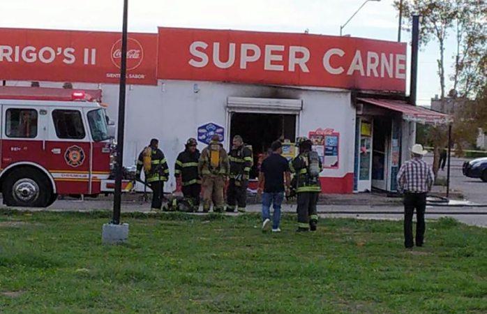 Se incendia tienda de abarrotes en rinconada los nogales